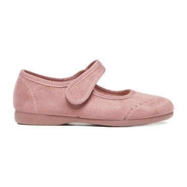 Spectator Mary Janes, Rose Suede