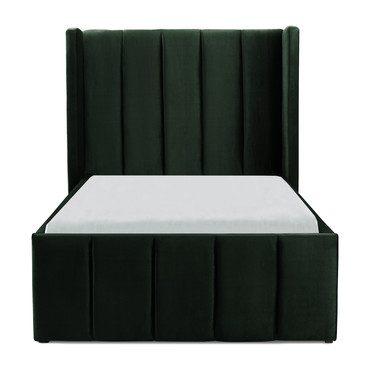 Innika Velvet Bed, Green