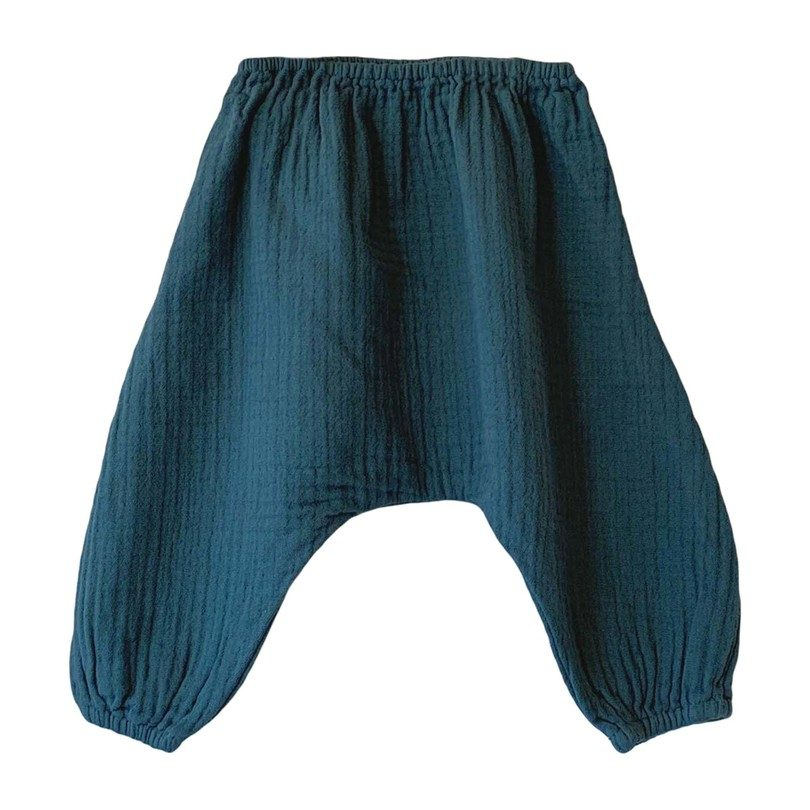 baby Nico Harem Pant, Sea Glass