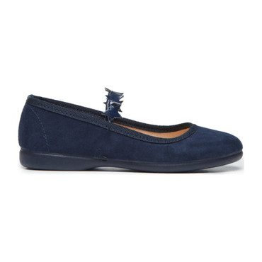 Star Mary Janes, Navy Suede