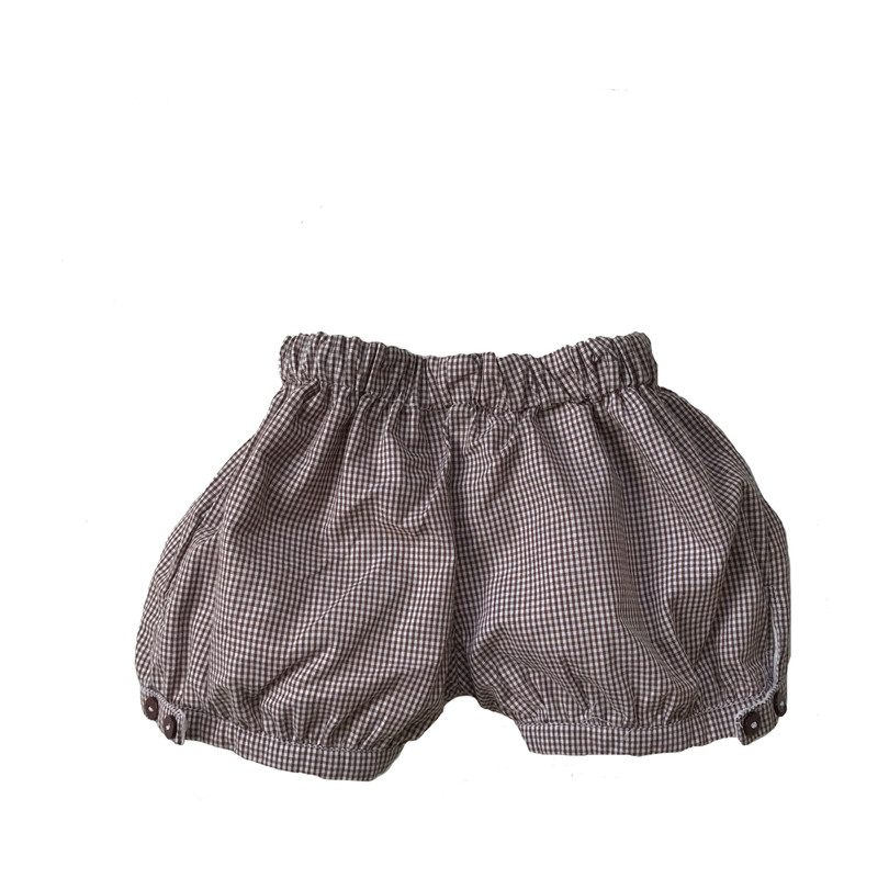 Reversible Otto Bloomers, Cream & Brown