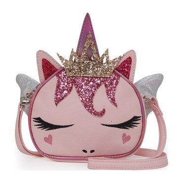 Fairy Queen Unicorn Crossbody, Pink