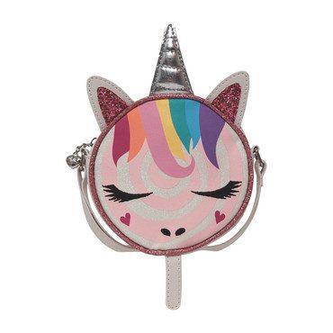 Lollipop Unicorn Crossbody, White
