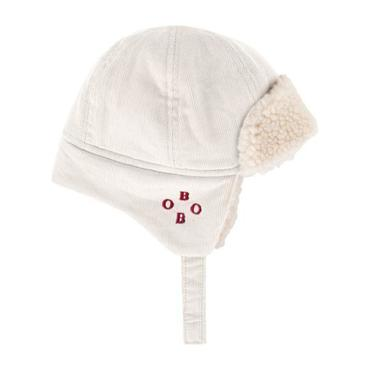Baby Faux Sheepskin Winter Hat, Cream