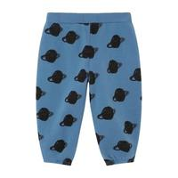 Baby Sweatpants With All-Over Saturn Print, Blue