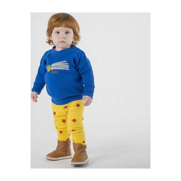 Baby Sweatshirt With A Star Called Home Print, Blue