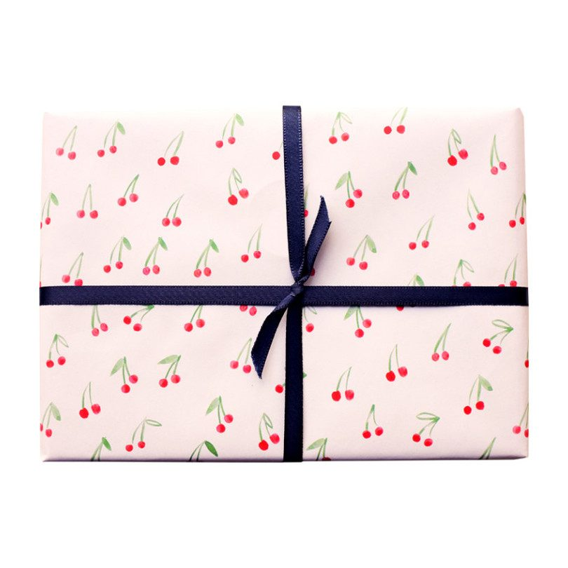 Cherries On Top Gift Wrap
