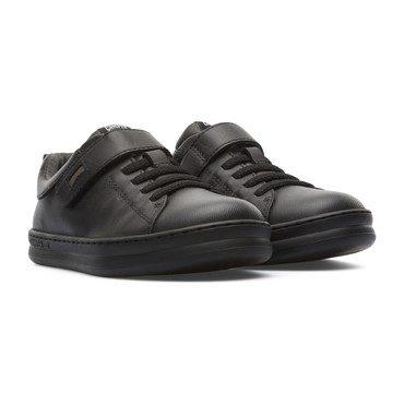 Runner Four Velcro Sneaker, Black