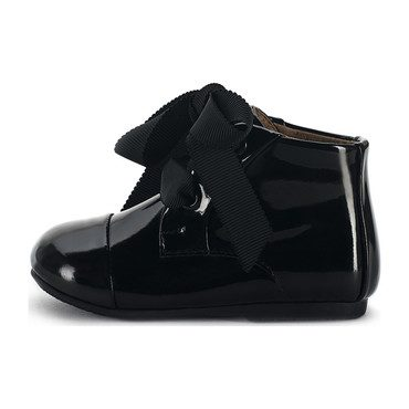 Jane Boots, Black Patent