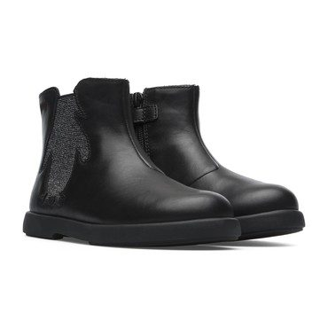 Duet Penguin Chelsea Boot, Black