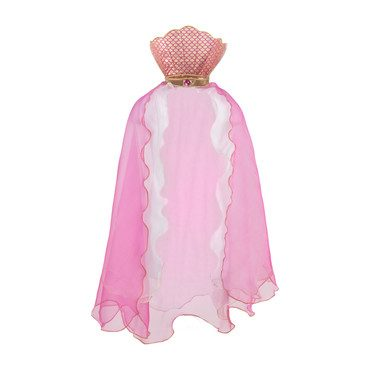 Mermaid Glimmer Cape, Pink
