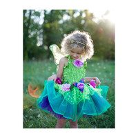 Fairy Blooms Deluxe Dress, Green