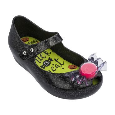 Mini Ultragirl Trick or Treat Flat, Black Gold