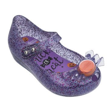 Mini Ultragirl Trick or Treat Flat, Glitter Purple