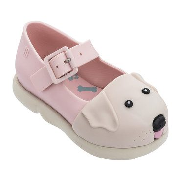 Mini Play Step Puppy Mary Jane, Pink Beige