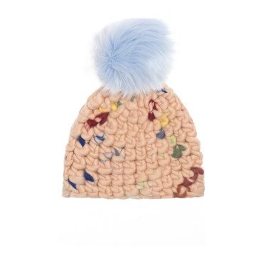 *Exclusive* Beanie (Faux) Pomster, Doodle