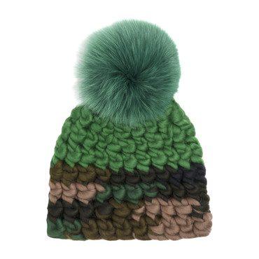 Color Block Hat, Camo