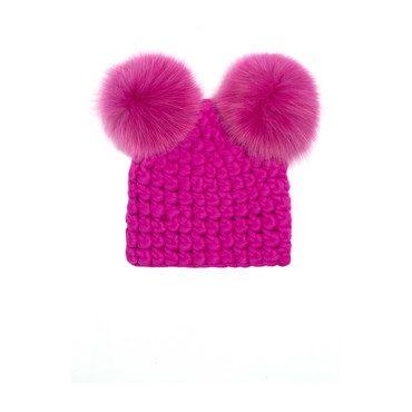 Mickey Pom Hat, Magenta