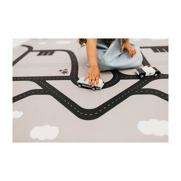 Cali Play Rug, Grey