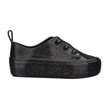 Mini Ulitsa Sneaker, Black Glitter