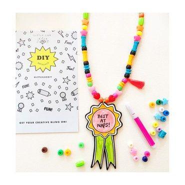 DIY Award Ribbon Necklace
