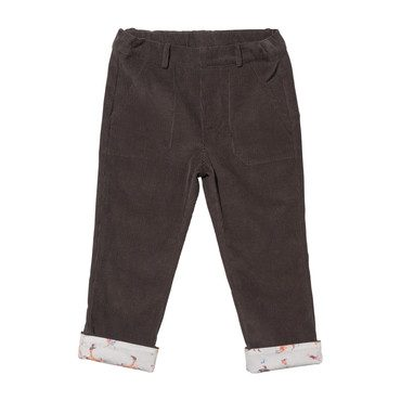 Faux Pant, Charcoal Woodland