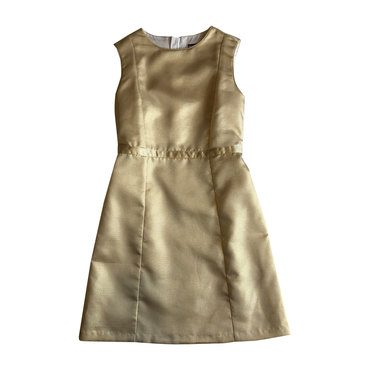 Ophelia Shift Dress, Gold