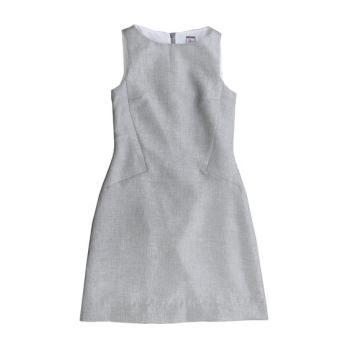 Ophelia Shift Dress, Silver