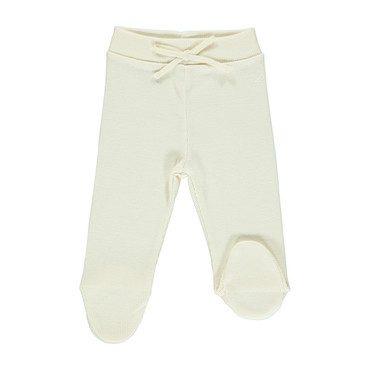 Organic Bebe Pants, Ecru