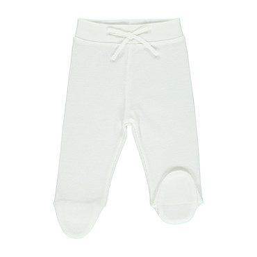 Organic Bebe Pants, Off-White