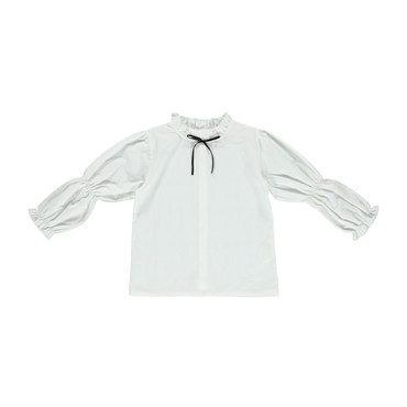 Organic Diane Blouse, Off-White