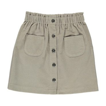 Organic Ebba Skirt, Simple Taupe