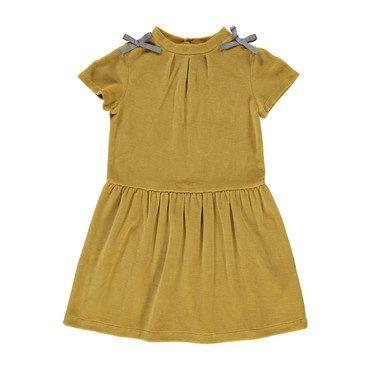 Organic Emilia Dress, Caramel