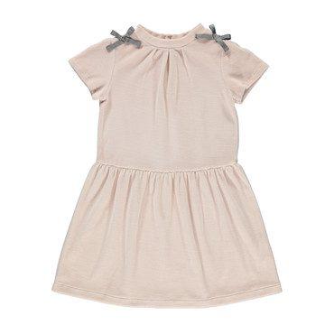 Organic Emilia Dress, Rose Petal