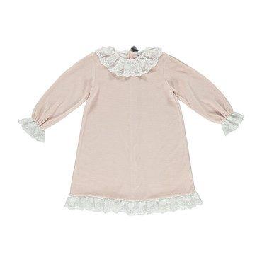 Organic Grace Dress, Rose Petal