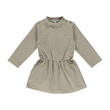 Organic Stina Dress, Simple Taupe