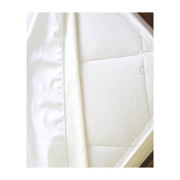 Organic Cotton Waterproof Fitted Protector Pad, Twin XL