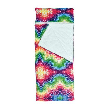 Rainbow Tie Dye Sleeping Bag