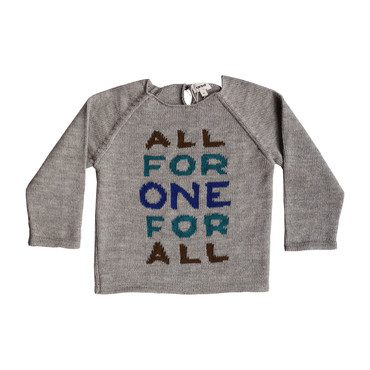 *Exclusive* All For One Raglan Sweater, Oatmeal