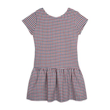 Mod Party Dress, Houndstooth