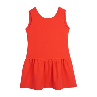 Chic Party Dress, Bright Red