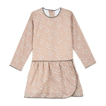Aviary Autumn Dress, Pink