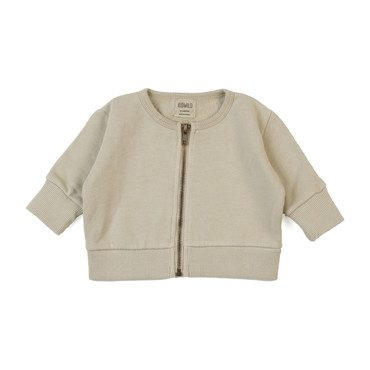 Vintage Zip Sweater, Oatmeal