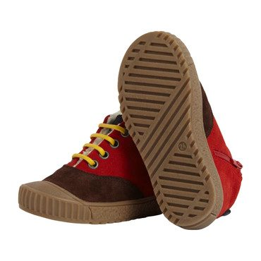 Elm Plimsole Shoes, Red