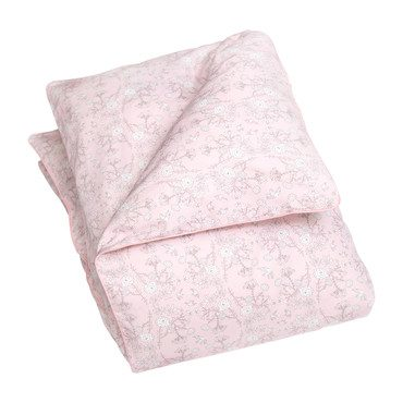 Bird's Song Baby Duvet Set, Pink
