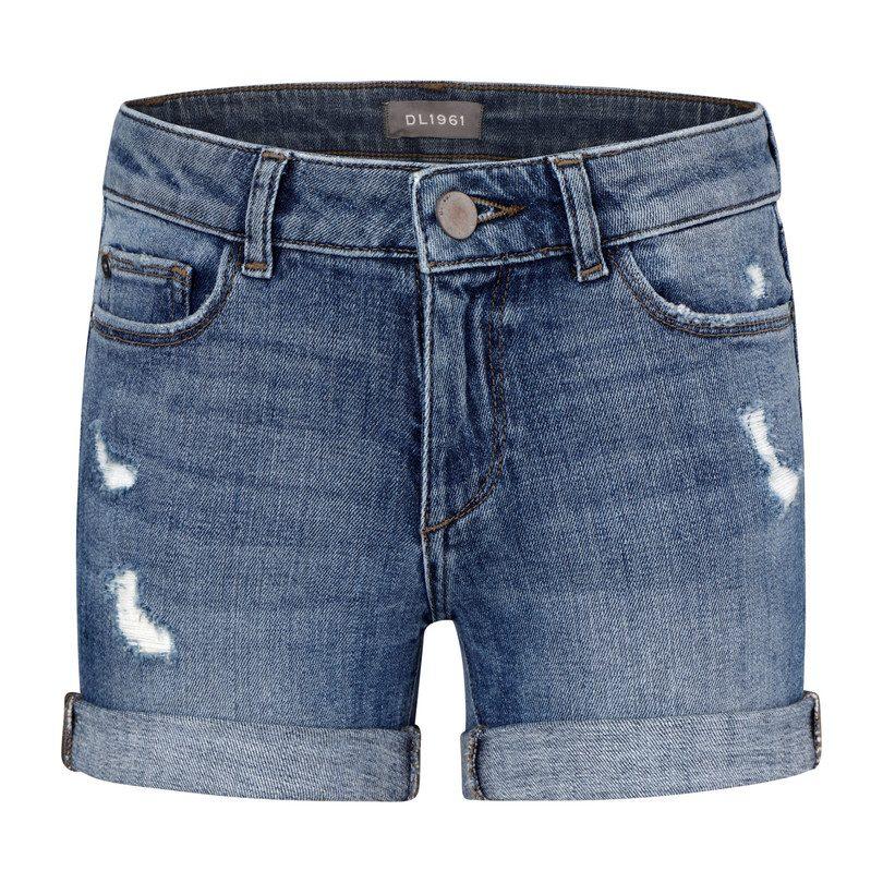 DL1961 Girls Piper Toddler Cuffed Short