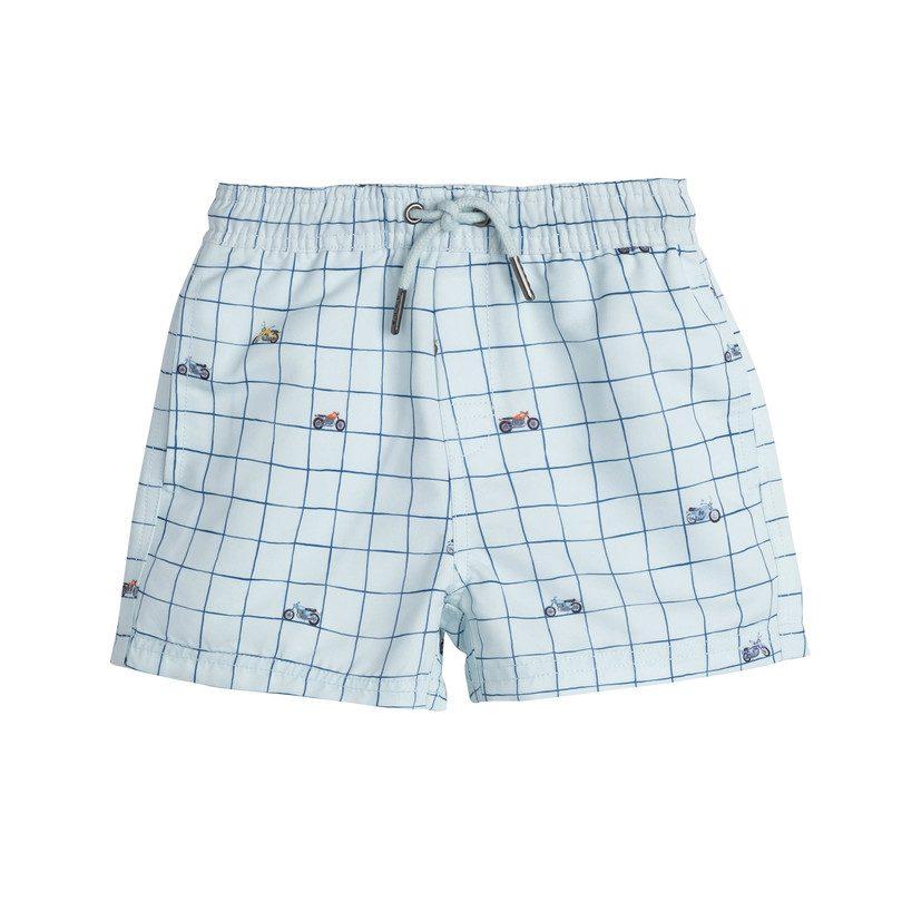 Le Club Original Boys Swim Trunk Fresh Blue