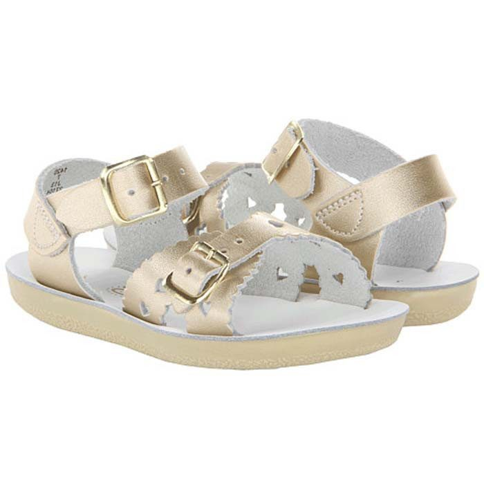 Sweetheart Sandals, Gold