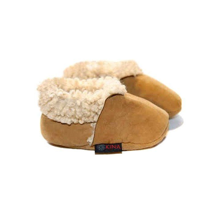 Lambskin Shearling Bootie, Natural